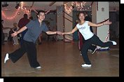 Ben and Sheri Swing Dancers