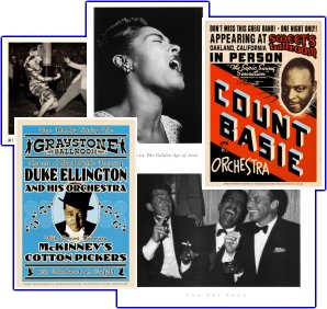 Vintage Jazz, Swing, and Art posters For Sale